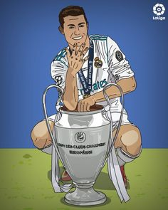 Cristiano Ronaldo wins his the CHAMPIONS LEAGUE title and is one short of the European Cup record holder, Gento, with 6 Cristino Ronaldo, Ronaldo Football, Ronaldo Juventus, Football Memes, World Football, Football Players, Football Stuff, Messi And Ronaldo Wallpaper, Cristiano Ronaldo Wallpapers