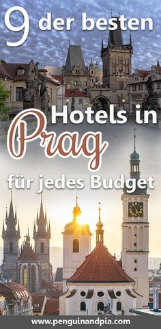 We give you tips for the best hotels in Prague in every price range! Prague is a great city with a lot to discover - from the Old Town to the Prague Castle. Best Hotels In Prague, Best Beaches In Europe, Las Vegas, Beste Hotels, Prague Castle, Reisen In Europa, Travel Reviews, Backpacking Europe, Suites
