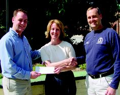 Hannibal Jaycees donate proceeds from Chili cook-off to community college
