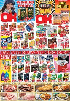 OK Grocer Danabaai winning prices valid until end May 2013 Cereal, Food, Essen, Meals, Yemek, Breakfast Cereal, Corn Flakes, Eten