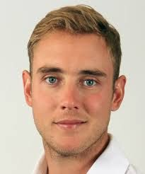 Born: June 24h 1986  ~ Stuart Christopher John Broad is a cricket player who plays Test and One Day International cricket for England.