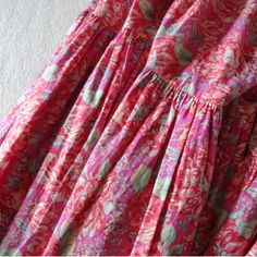 Vintage 1984 Laura Ashley Tiered Skirt