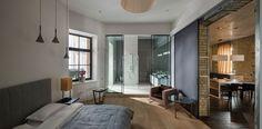 Podil Loft Apartment by Sergey Makhno Architect #makhnodesign