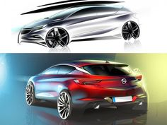 2016 Opel Astra: the design  #CarDesign