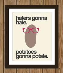 Food, Mood, Health and Happiness: Potato Hating