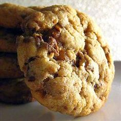 Heath Bar Cookies on BigOven
