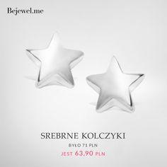 Bejewel.me ● Srebrne kolczyki ● www.Bejewel.me/srebrne-kolczyki #minimal #earrings #stars #sweet #silver #jewellery #cheap #jewels #details #fashion #jewelleryfreak #jewelleryobcessed #jewellerylover #beautiful #blingbling #free #shipping #cheapandchic