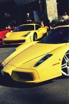#Ferrari 458 Italia & Ferrari Enzo