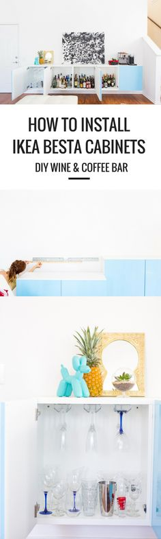 How To Install IKEA Besta Cabinets