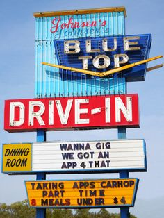 Blue Top Drive In....Gary, Indiana
