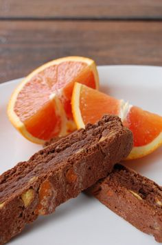 Candied orange chocolate biscotti. Includes recipe to make candied ...