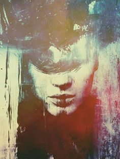 Michal Mozolewski is an artist from Gdansk, Poland who intersects the lines of impressionist art, photography and digital illustration. Illustration Sketches, Digital Illustration, Illustrations Posters, Digital Art Photography, Singular, Sad Art, Portrait Art, Portraits, Art For Art Sake