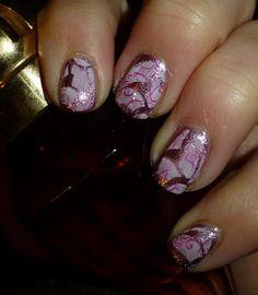 Double Process Nail Stamping Nail Stamping, Nail Polish, Nails, Beauty, Finger Nails, Ongles, Nail Polishes, Cosmetology, Polish