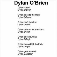 Dylan o'dyin haz me dead