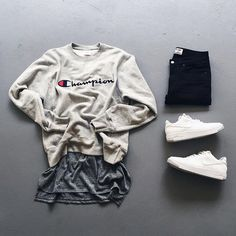 Mens Fashion Hipster – The World of Mens Fashion Swag Outfits Men, Stylish Mens Outfits, Basic Outfits, Cool Outfits, Casual Outfits, Fashion Outfits, Hype Clothing, Mens Clothing Styles, Mens Fashion Wear