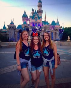 disneyland sisterhood! LMU AXO