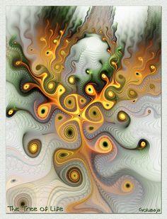 The Tree of Life by Golubaja
