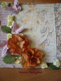 sercem tworzone: Koronka, motyle i kwiaty...