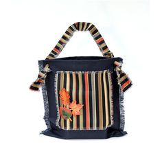 Fabric & Leather Tote