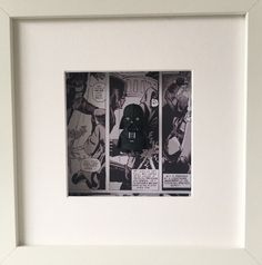 Star Wars Darth Vader Figure Boxed Frame Wall by BenjoCreations