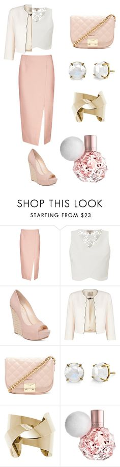 """Work and Dinner"" by janiceleigh ❤ liked on Polyvore featuring C/MEO COLLECTIVE, Lipsy, Jessica Simpson, Jacques Vert, Forever 21 and Irene Neuwirth"