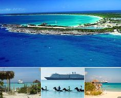 half moon cay bahamas - last stop of our honeymoon