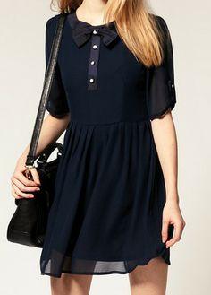 Blue Sheer Dress//