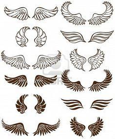 single wing tattoo flash - Google Search