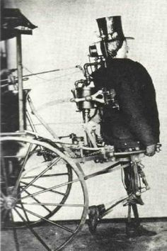 Zadock Dederick's Steam Man, 1868