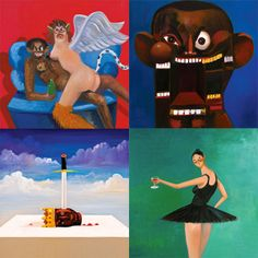 George Condo Explains His 5 Kanye West Album Covers.