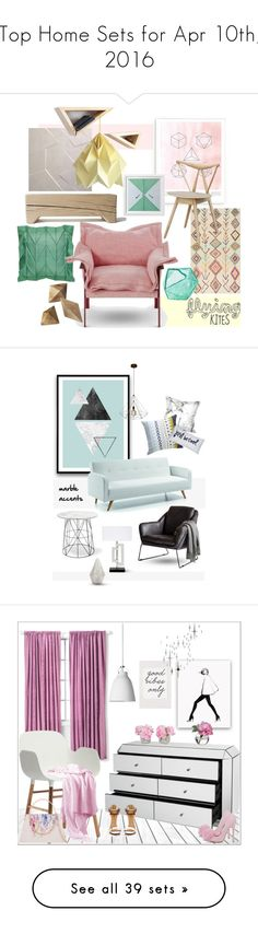 """Top Home Sets for Apr 10th, 2016"" by polyvore ❤ liked on Polyvore featuring interior, interiors, interior design, home, home decor, interior decorating, Dowse, Skandium, nuLOOM and Dot & Bo"