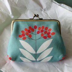 Handmade vegan purse