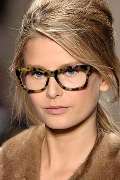 Michael Kors tortoise shell.  Wear glasses sometimes, even if you don't need them.  Fashion glasses are fun and bring about a certain confidence at times.
