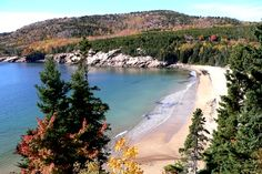 Seawall campground, Acadia National Park in Maine.