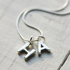 Chunky Silver Initial Necklace by Highland Angel, the perfect gift for Explore more unique gifts in our curated marketplace. Alphabet Images, Alphabet Design, Love Images With Name, Sterling Silver Initial Necklace, Stylish Alphabets, Alphabet Wallpaper, Picture Letters, Name Letters, Girly Drawings
