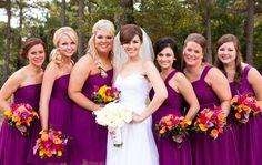 purple jewel tone wedding