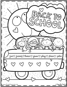 Here are the Amazing Back To School Coloring Coloring Page. This post about Amazing Back To School Coloring Coloring Page was posted . Back To School Night, Back To School Crafts, 1st Day Of School, Beginning Of The School Year, School Fun, Back To School Kids, Middle School, High School, Kindergarten Coloring Pages