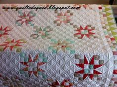 Lovely quilting from someone in my group.