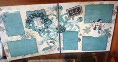 Photo Scraps - February 25, 2014 - Winter Layouts with Barb