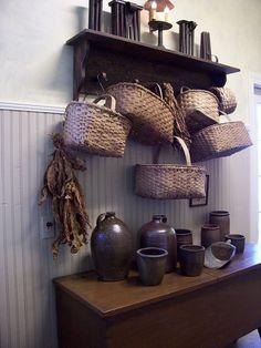 325 Best Primitive Shelf Show Images