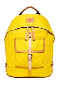 Will Leather Goods Canvas Dome Backpack