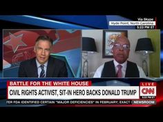 Civil Rights Leader Clarence Henderson Backs Trump: 'America Is a Business'…
