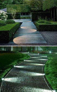 Karanlık olduğunda, bahçenizdeki patika yolları veya geçitleri aydınlatmak, bahçenizin görsel çekiciliğini artırmanın mükemmel bir yoludur. Sadece bu değil