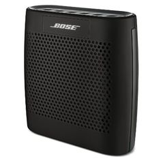 Bose SoundLink Color Bluetooth Speaker (Black) - Bose Soundlink Color - Experience a full and lifelike sound from a lightweight, compact design portable speaker, and now it suits your style! One of the best Portable Speakers. To get more updates, follow Best Buy Portable Speakers (https://www.pinterest.com/bestbuyspeakers/)