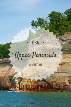 Michigan Upper Peninsula Porcupine Mountains State Park Pictured Rocks Keewinaw Peninsula Tahquamenon State Park #michigan #upperpeninsula #midwesttravel
