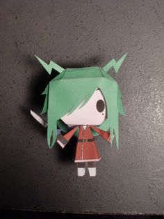 This paper toy is a chibi Freed Justine, a Mage of Fairy Tail who didn't often appear in the guild, the leader of the Thunder God Tribe, based on the Anime Freed Justine, Paper Toys, Paper Crafts, Manga, Fairy Tail Pictures, Fairy Tail Guild, Dengeki Daisy, 3d Laser, Kaichou Wa Maid Sama