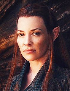 the hobbit Evangeline Lilly hobbitedit tauriel Desolation of Smaug bib*ed look how flawless and beautiful she is gorgeous and deadly my elven queen of badassery