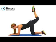 ▶ ‪Fat Burning HIIT Pilates Workout - 35 Minute Pilates and HIIT Cardio Blend‬‏ - YouTube
