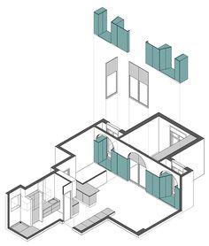 Flatmate Nook Architects