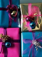 Image result for Elegant Wrapped Christmas Presents
